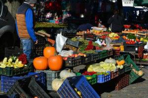 termelői piac a Dunakanyarban