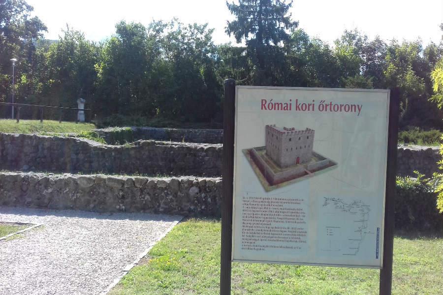 Római őrtorony – Leányfalu