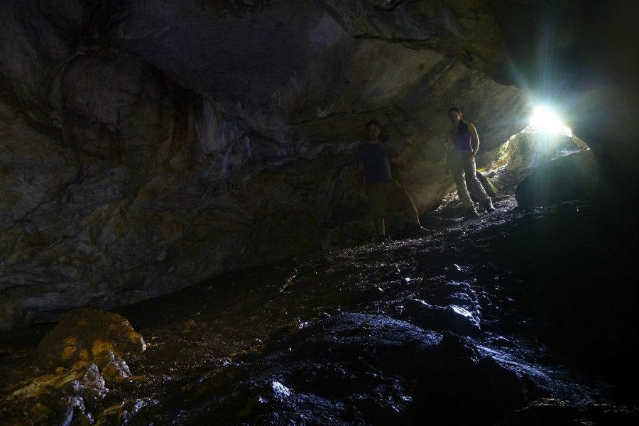 Násznép-barlang Vác