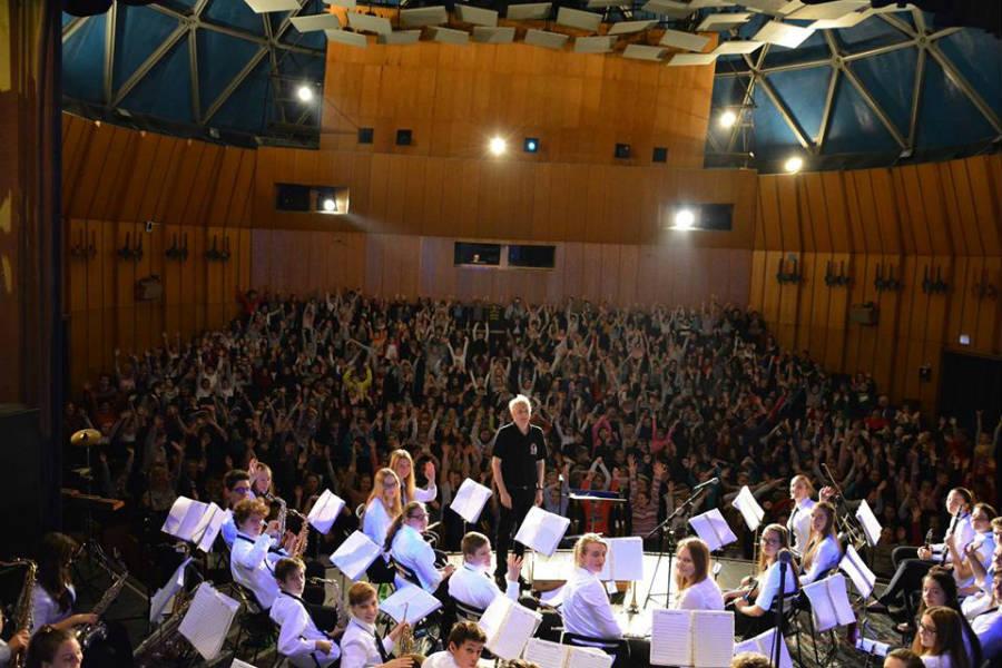 Váci ifjúsági Fúvószenekar koncertje