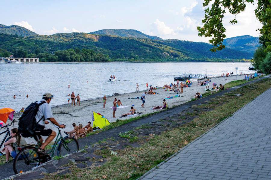 Nagymaros Duna-part