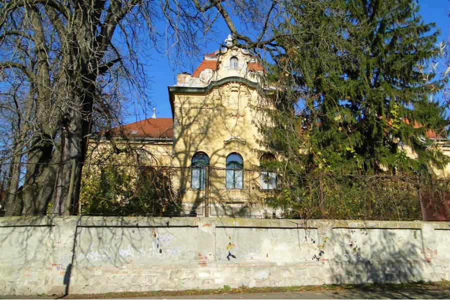 Luczenbacher-kastély, Szob