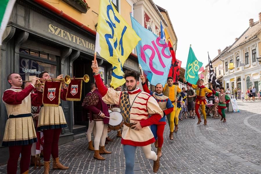 Pestisűző fesztivál Szentendre