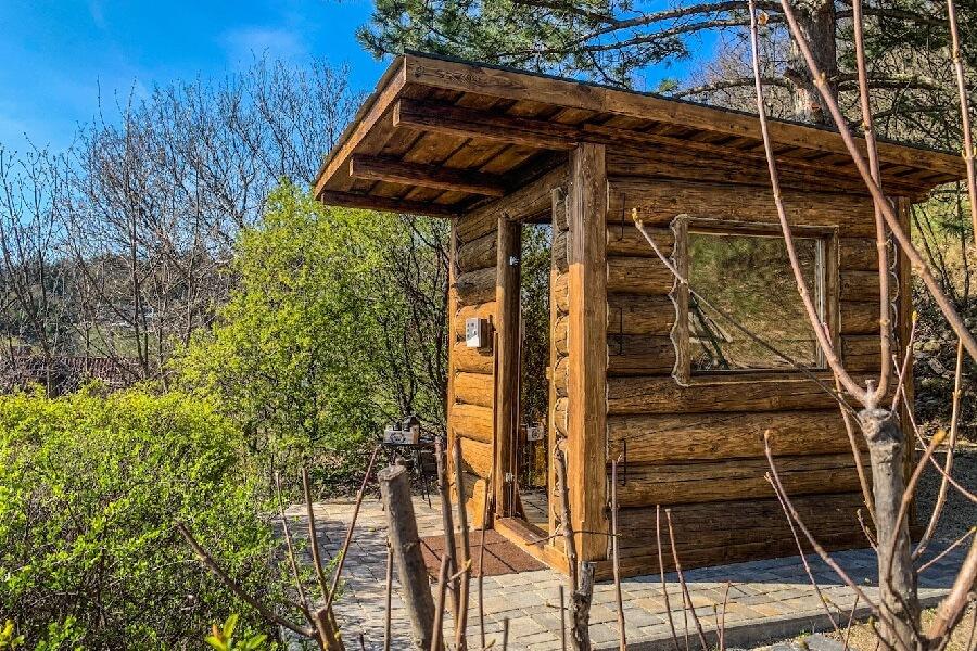 Hilltop Hideout Szentendre vendégház szauna
