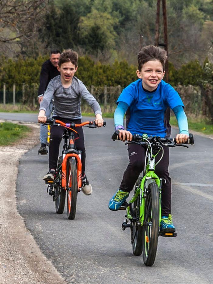 sportprogram Vác kerékpár