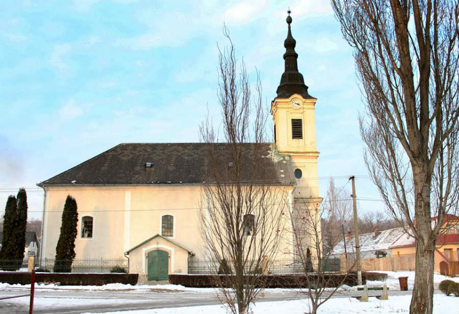 Reformatus templom Diósjenő
