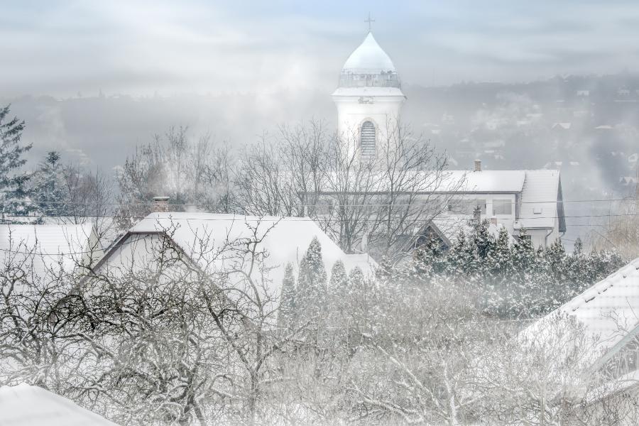 Szigetmonostor tél