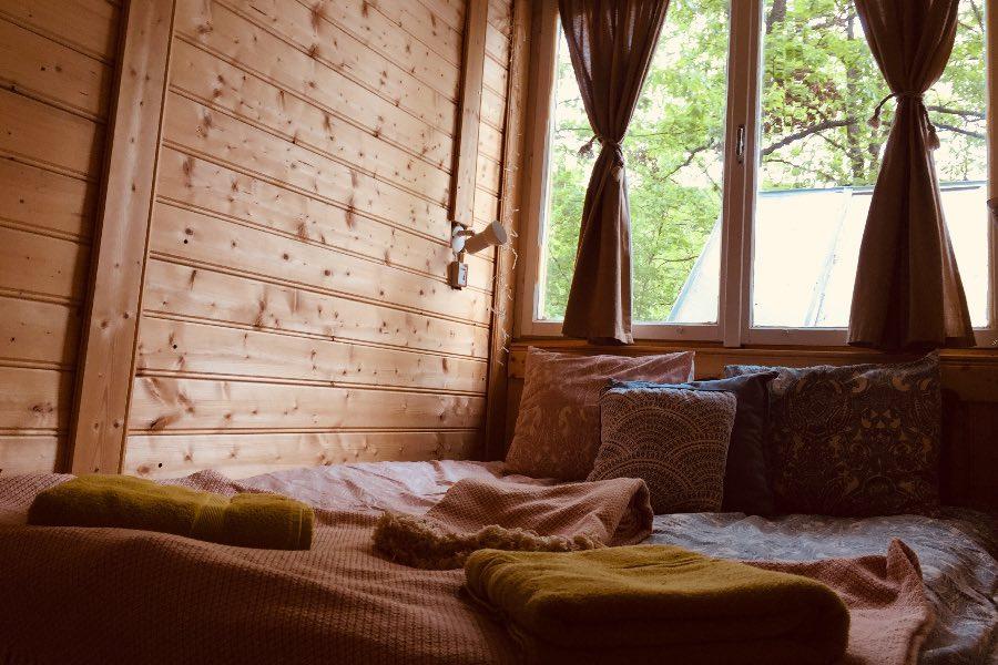 Zöld Kabin szoba