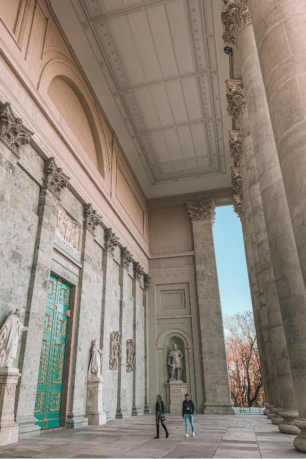 Esztergomi Bazilika oszlopai