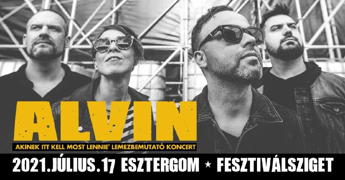 Alvin koncert Esztergom