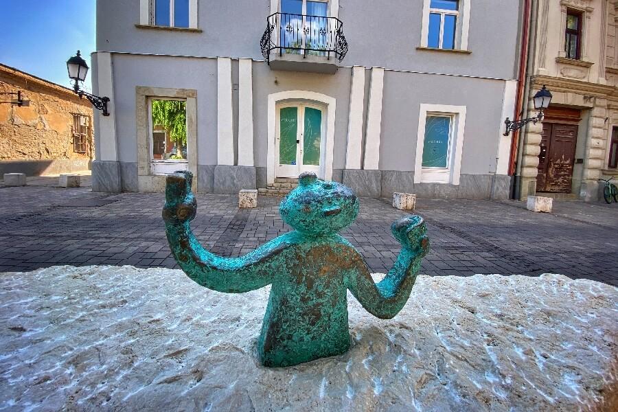 Kolodko szobor Vác