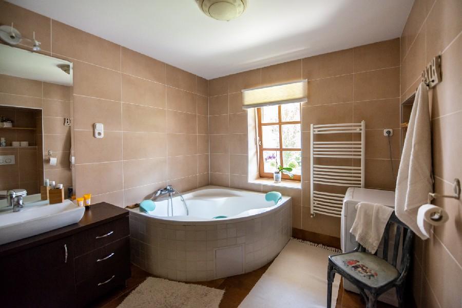 Patakház Nagybörzsöny fürdőszoba