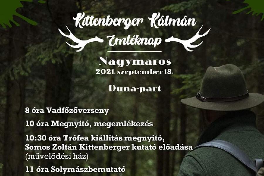 Kittenberger Kálmán Emléknap 2021